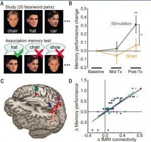 TMS Increased Memory