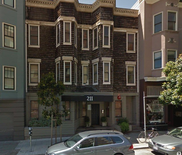 Street view of 211 Gough Street
